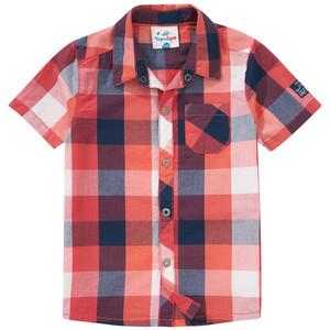 Jungen Hemd mit Karo-Muster