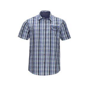 Reward classic Herren-Seersucker-Hemd mit Karomuster