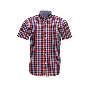Reward classic Herren-Hemd mit trendigem Karomuster