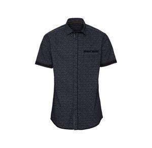 Reward classic Herren-Hemd mit Kontrast-Streifen