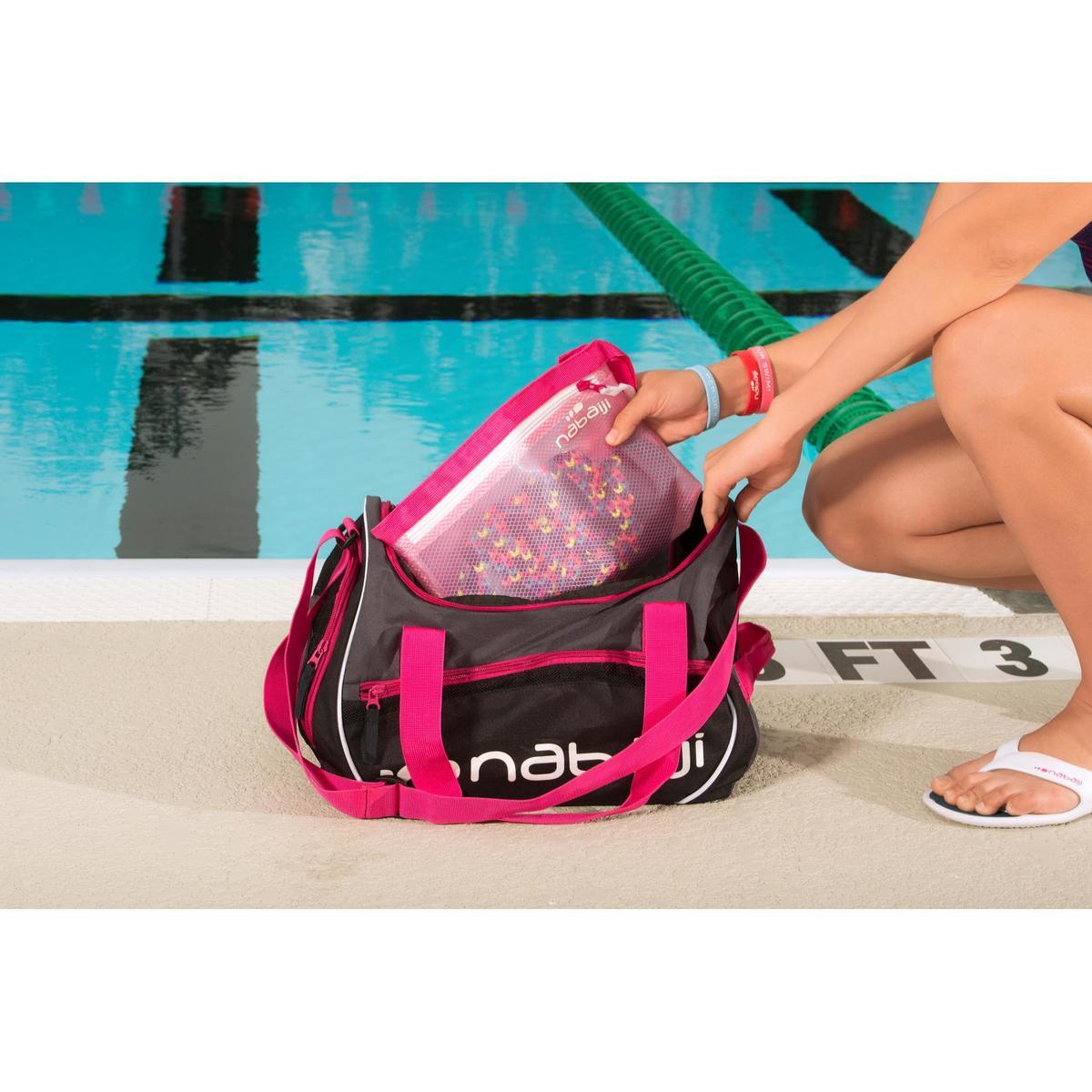 Bild 2 von Schwimmtasche Sporttasche Swimy 30 L grau/rosa