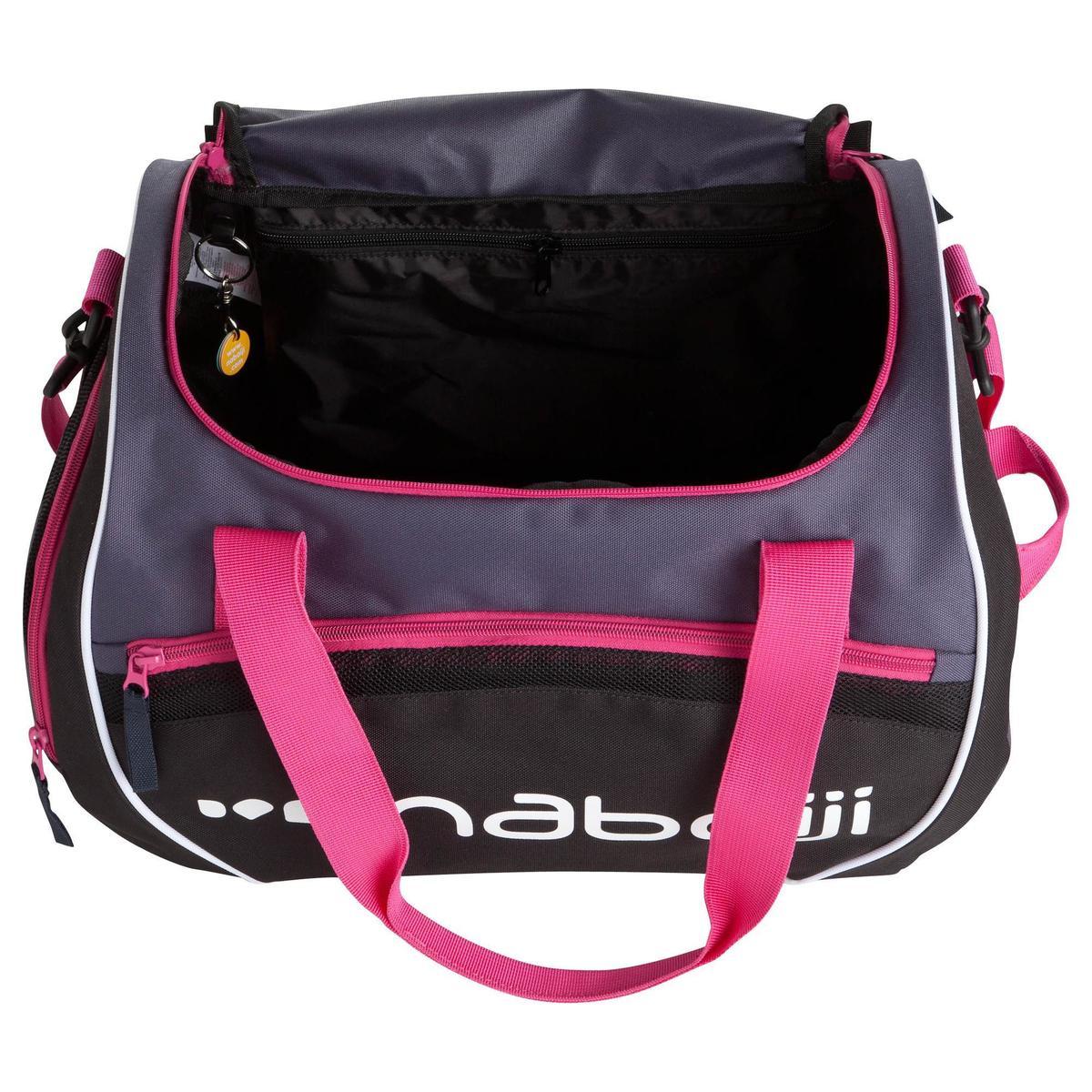 Bild 5 von Schwimmtasche Sporttasche Swimy 30 L grau/rosa