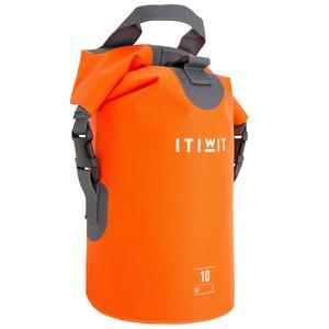 Wasserfeste Tasche 10 l ohne Umhängegurt orange