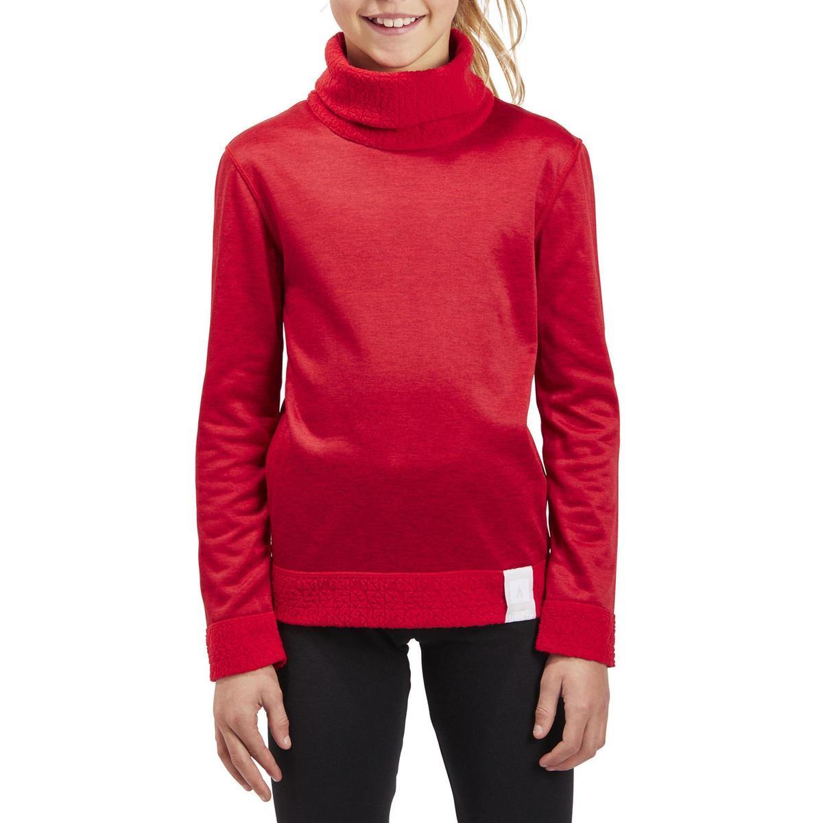 Bild 2 von Skiunterwäsche Funktionsshirt 2Warm Kinder rot
