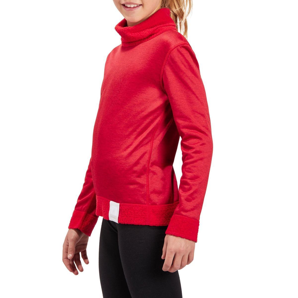 Bild 5 von Skiunterwäsche Funktionsshirt 2Warm Kinder rot