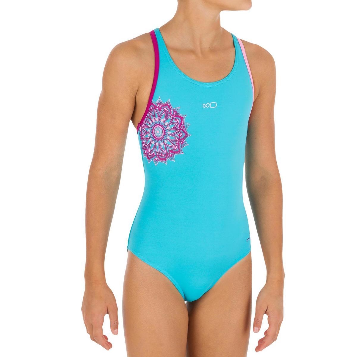 Bild 1 von Badeanzug Leony+ Mädchen blau/violett