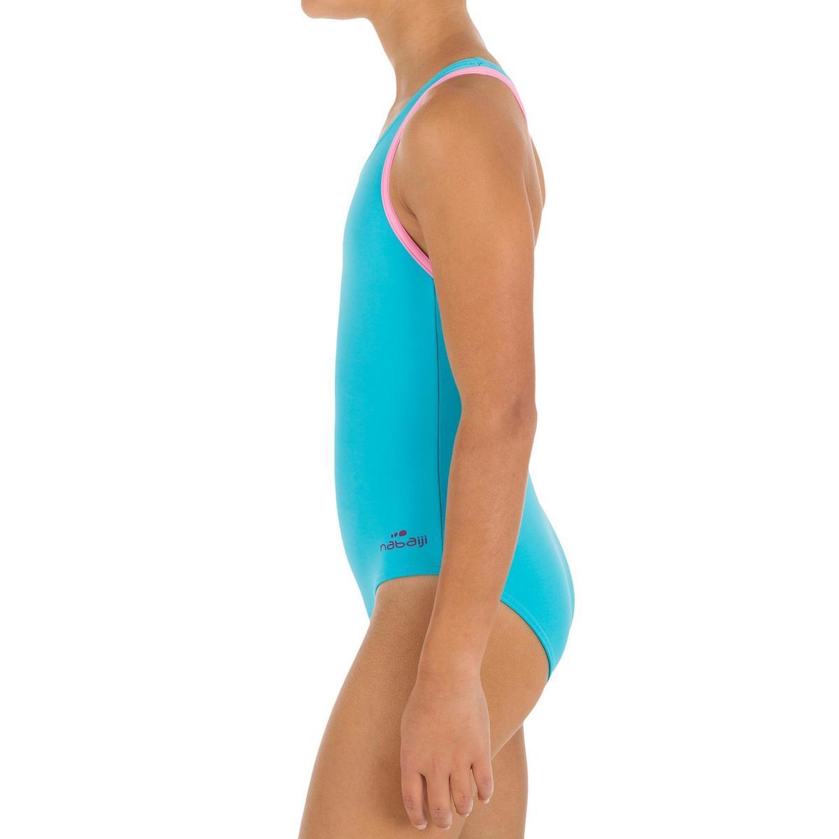 Bild 2 von Badeanzug Leony+ Mädchen blau/violett
