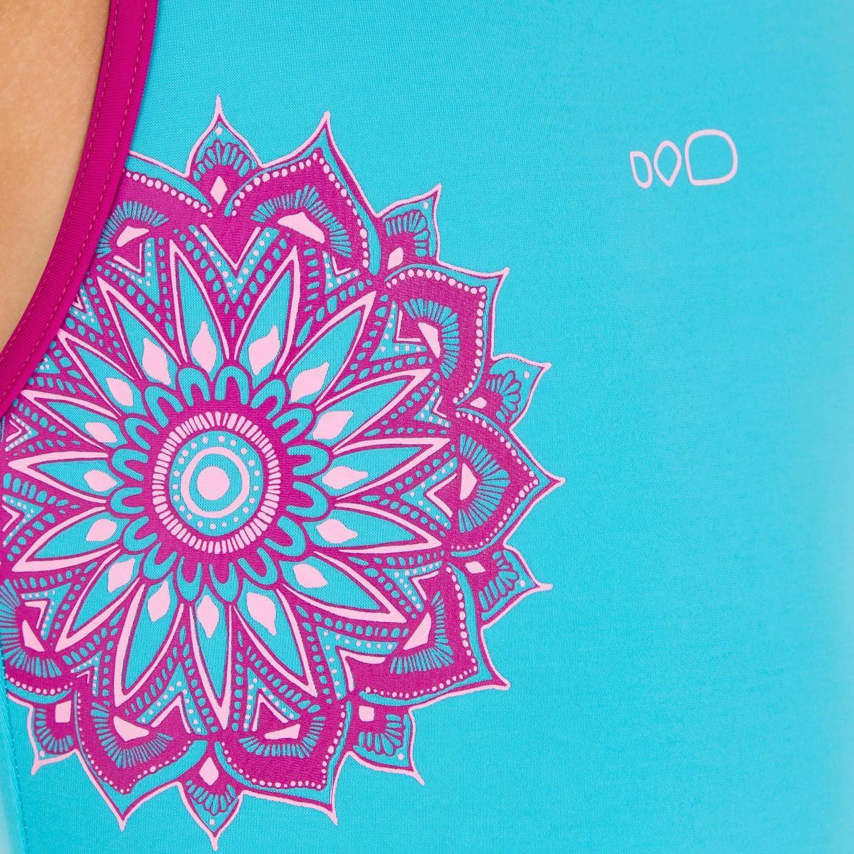 Bild 4 von Badeanzug Leony+ Mädchen blau/violett