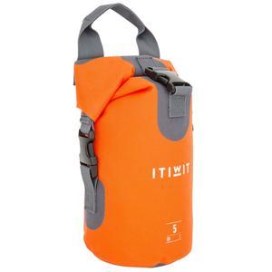 Wasserfeste Tasche 5 l orange ohne Umhängegurt
