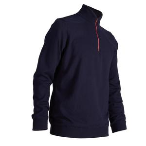 Golf Pullover winddicht warm Herren marineblau
