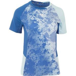 T-Shirt 860 Badminton Damen hellblau