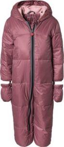 Schneeanzug mit Kapuze, abnehmbar Gr. 74 Mädchen Baby