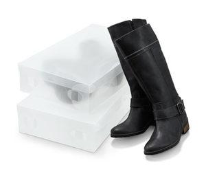 2 Stiefelaufbewahrungsboxen