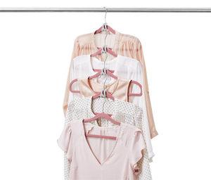 10 Platzspar-Kleiderbügelhaken