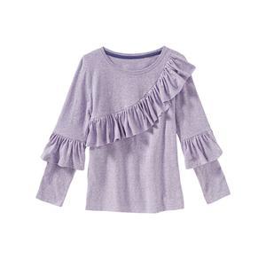 Kids Mädchen-Shirt mit eleganten Rüschen