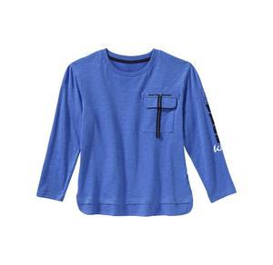 Kids Jungen-Shirt mit verzierter Brusttasche