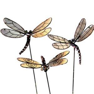 """Gartensteckerset """"Libellen"""", 3-teilig"""