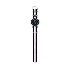 Damen-Armbanduhr mit Nylonband