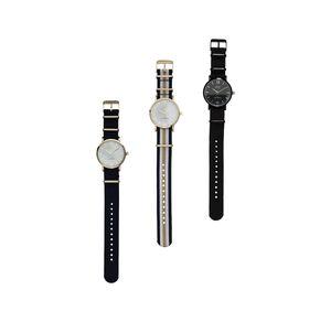 Damen-Armbanduhr mit Nylon-Armband