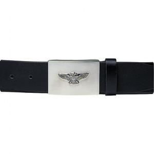 Spirit Motors            Gürtel mit Adlermotiv-Schnalle 1.0 schwarz 85