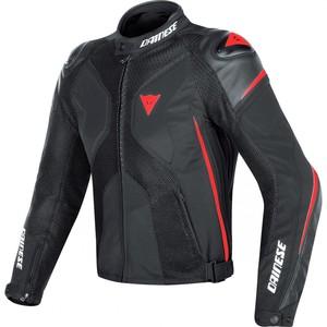 Dainese            Super Rider D-Dry Textiljacke schwarz/rot