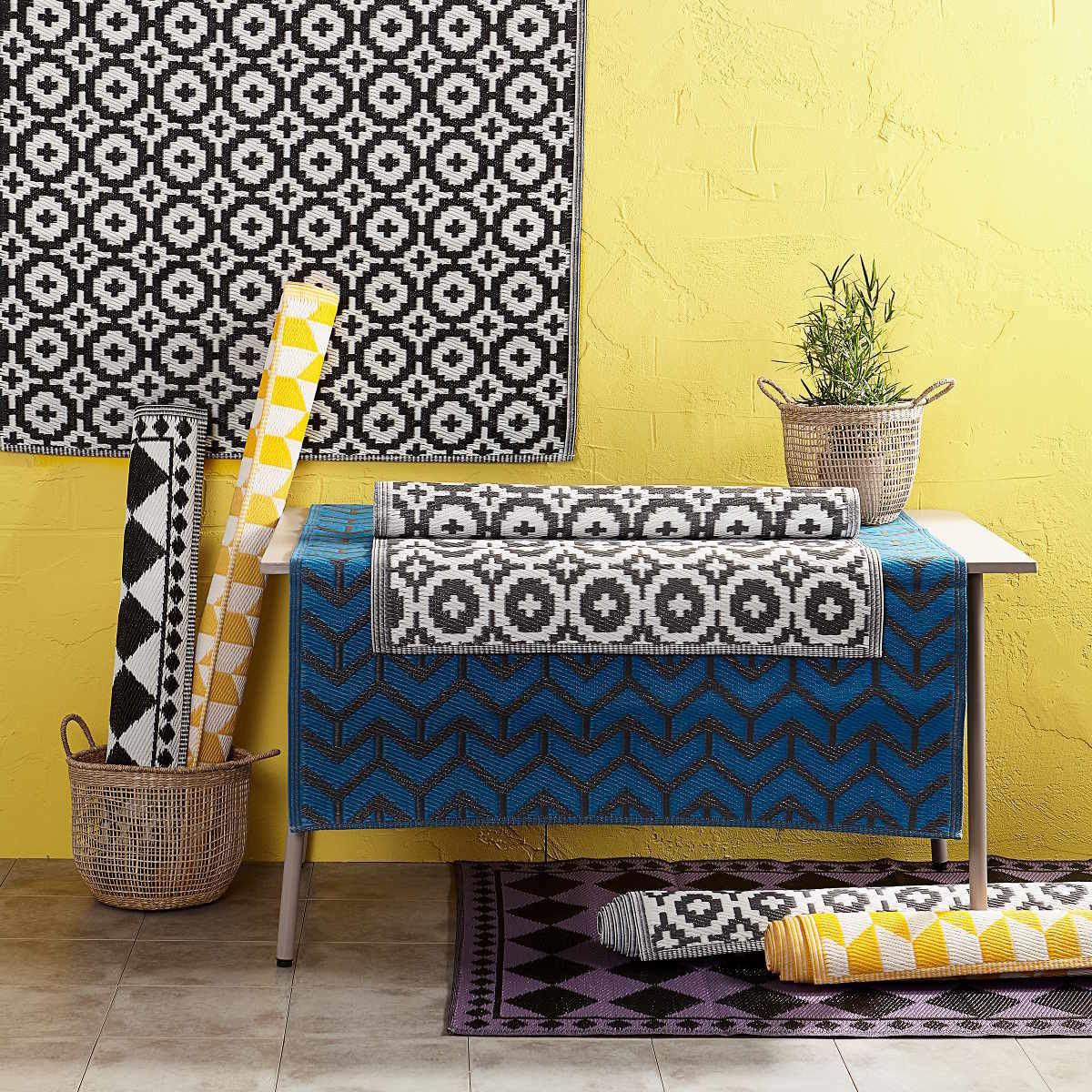 Bild 5 von In- & Outdoor-Teppich Mosaik 150x90cm