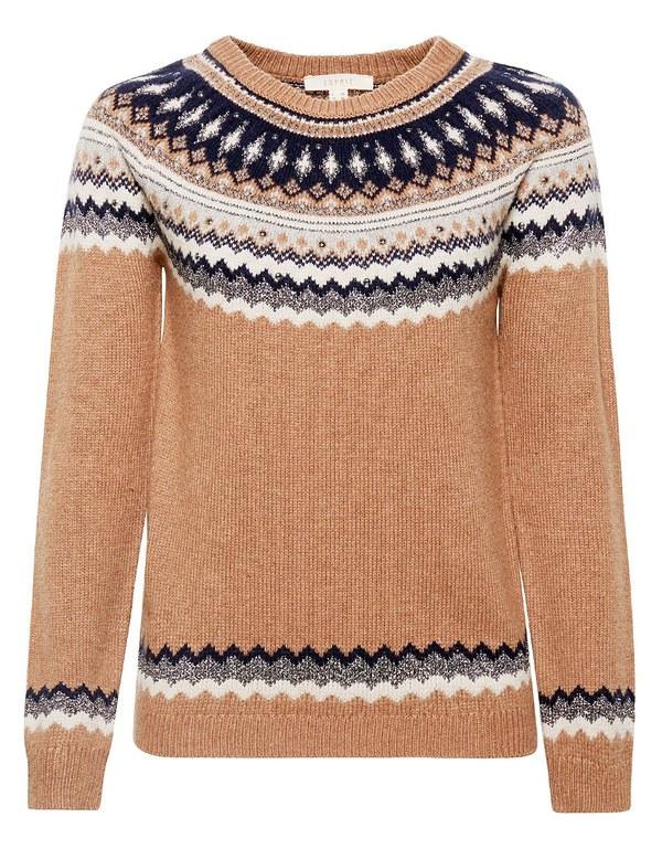 Esprit - Pullover im norwegischen Stil