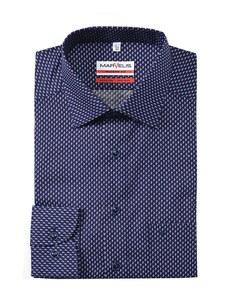 Marvelis - Businesshemd, langarm, gemustert