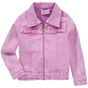 Mädchen Jeansjacke mit Reißverschluss