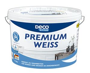 DECO STYLE®  Premiumweiß