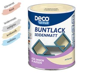 DECO STYLE®  Weiß-, Bunt- bzw. Heizkörperlack
