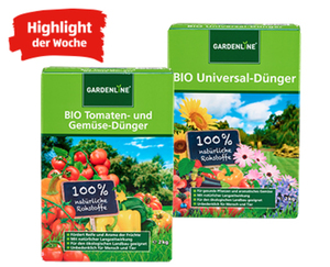 GARDENLINE®  Bio-Dünger-Sortiment