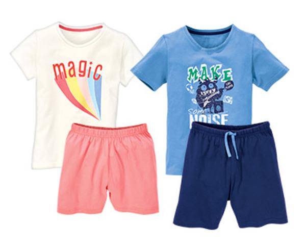 alive®  Kinder-Shorty-Pyjama