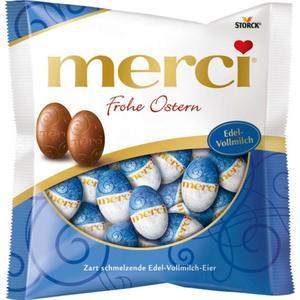 Merci Frohe Ostern Edel-Vollmilch-Eier 1.66 EUR/100 g