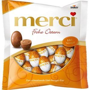 Merci Frohe Ostern Edel-Nougat-Eier 1.66 EUR/100 g