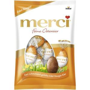 Merci Feine Ostereier Edel-Nougat 1.90 EUR/100 g
