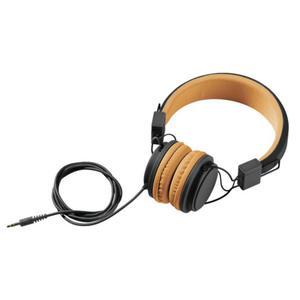 IDEENWELT Kinder-Kopfhörer schwarz/orange
