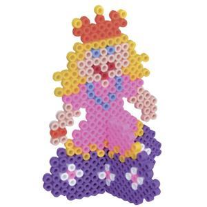 IDEENWELT Bügelperlenset Prinzessin 3D