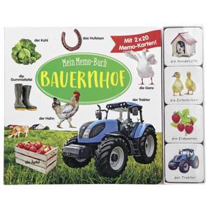 IDEENWELT Mein Memo-Buch Bauernhof