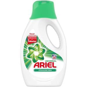 Ariel Universal Flüssigwaschmittel Strahlend Rein 20 WL 0.23 EUR/1 WL