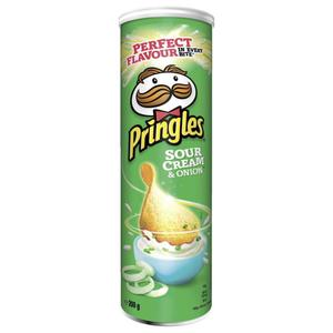 Pringles Sour Cream & Onion 1.15 EUR/100 g