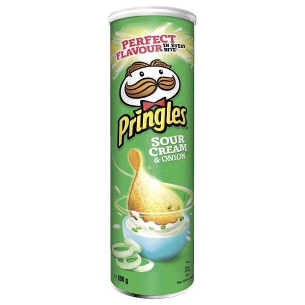 Pringles Sour Cream & Onion 1.15 EUR/100 g
