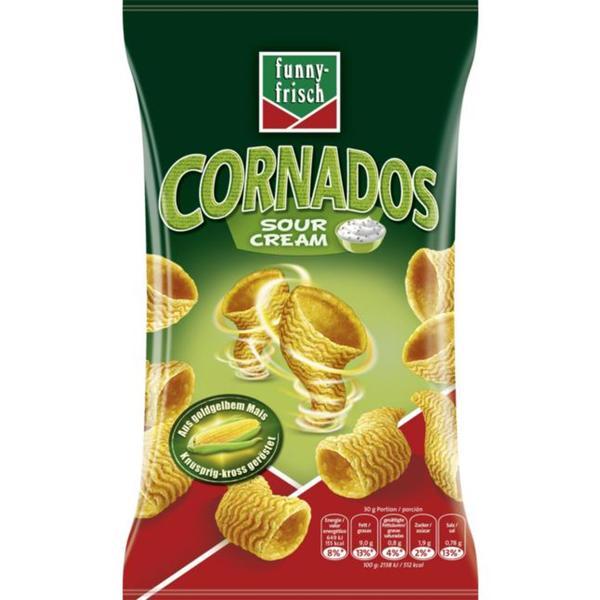 funny-frisch Cornados Sour Cream 1.99 EUR/100 g