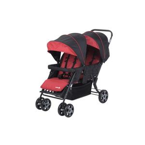 Safety 1st Geschwisterwagen Teamy, Ribbon Red Chic