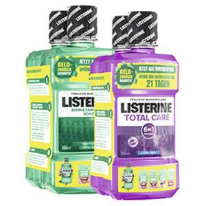 Listerine Mundspülung versch. Sorten, jede 2x500/2x600-ml-Packung