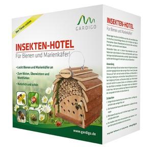Gardigo Insektenhotel für Bienen und Marienkäfer