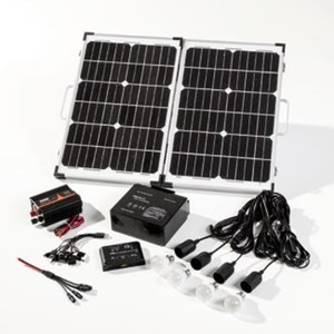 Mauk High Tech Solar Komplett-Set, 50 Watt