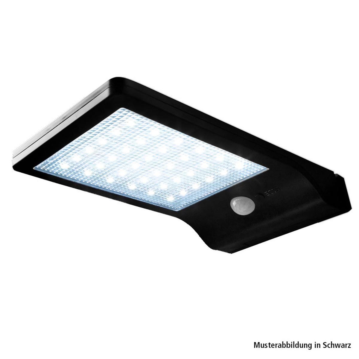 Bild 1 von Müller Licht LED-Solar-Wandleuchte, Weiß