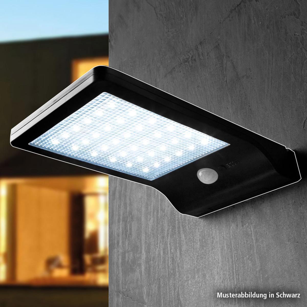 Bild 2 von Müller Licht LED-Solar-Wandleuchte, Weiß