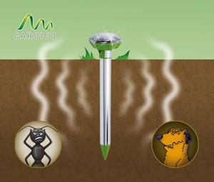 Gardigo Solar Maulwurf-Ameisenfrei Vibration